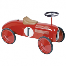 Goki Ride On Vehicle Red Racing Car