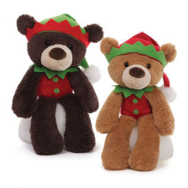 Gund Fuzzy Elf Bear