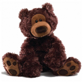 Gund - Philbin Bear Chocolate Large