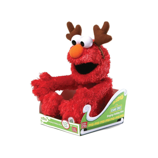 Gund Singing Xmas Elmo