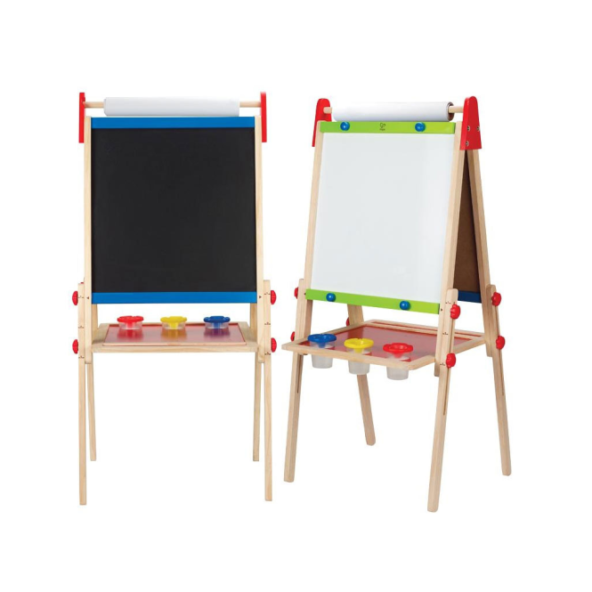 hape all in 1 easel blackboards easels from soup dragon uk