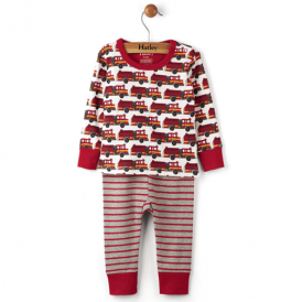 Hatley Baby Boy Pyjamas Fire Trucks