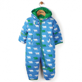 Hatley Baby Boy Snowsuit Polar Bears