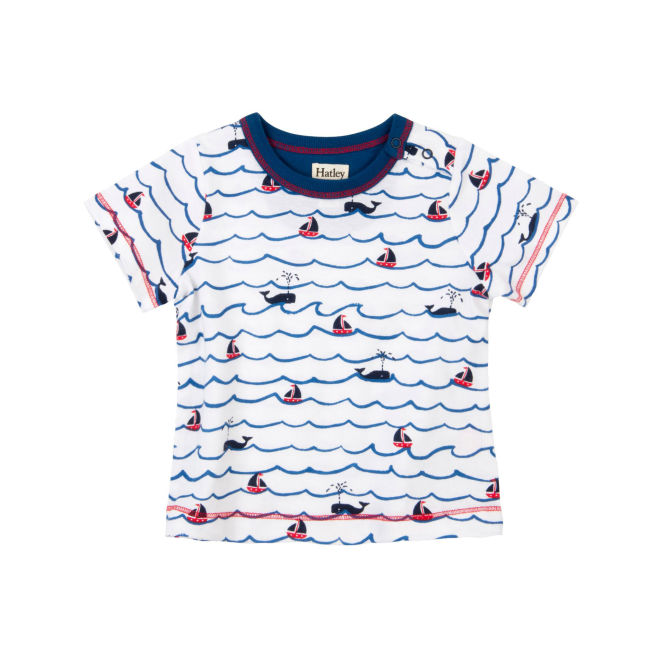 Hatley Baby Boy T-Shirt Sailing