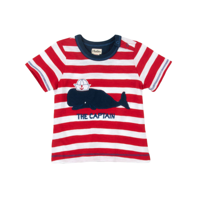 Hatley Baby Boy T-Shirt The Captain