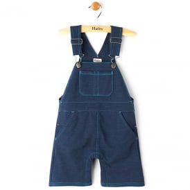 Hatley Baby Dungarees Deep Pacific Blue