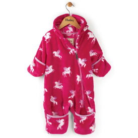 Hatley Baby Girl Fleece Bundler Unicorns