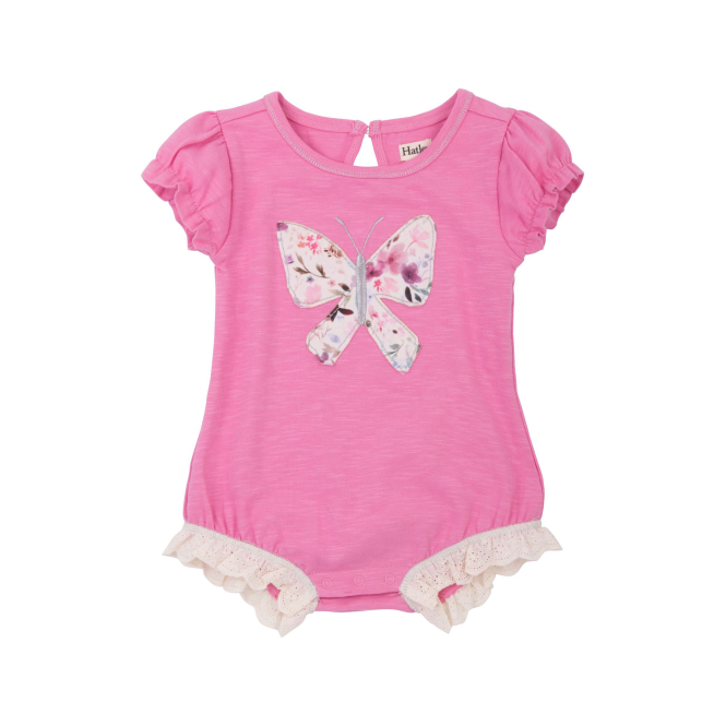Hatley Baby Girl One Piece Lacy Butterflies