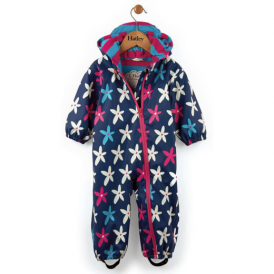 Hatley Baby Girl Rainsuit Flowers