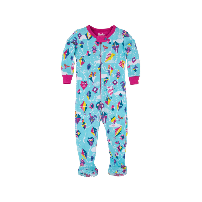Hatley Baby Girl Romper Colourful Kite