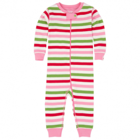 Hatley Baby Girl Romper Holiday Stripes