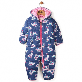 Hatley Baby Girl Snowsuit Bunnies