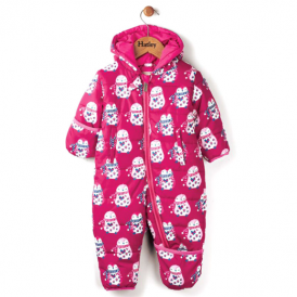 Hatley Baby Girl Snowsuit Penguins