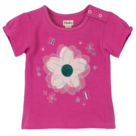 Hatley Baby Girl T-Shirt Flowers