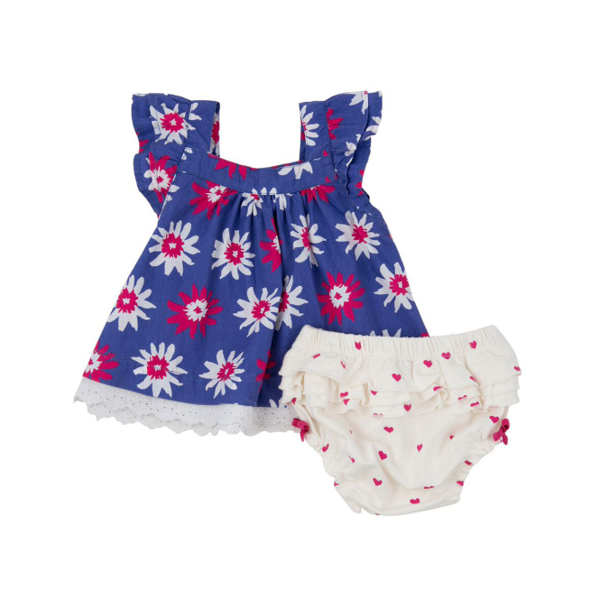 cf441a278 Hatley Baby Girl Tunic Set Flowers - Dresses   Playsuits from Soup ...