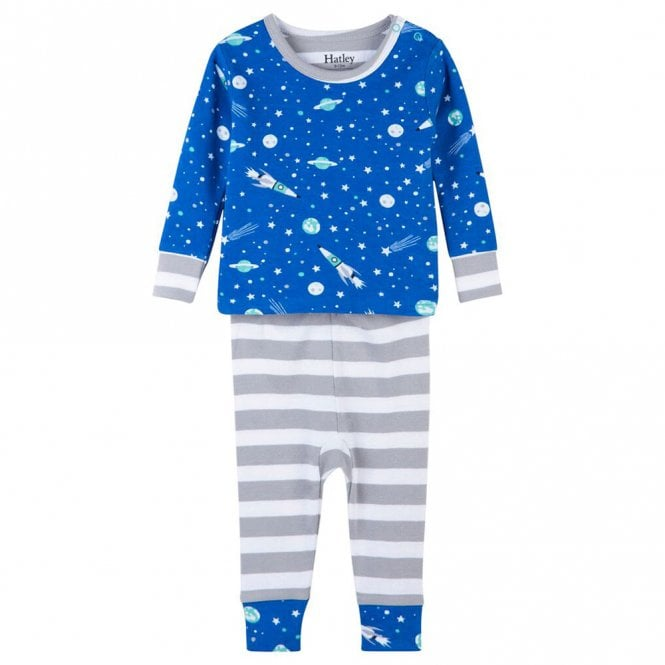 Hatley Hatley Baby Organic Cotton Pyjamas Outer Space