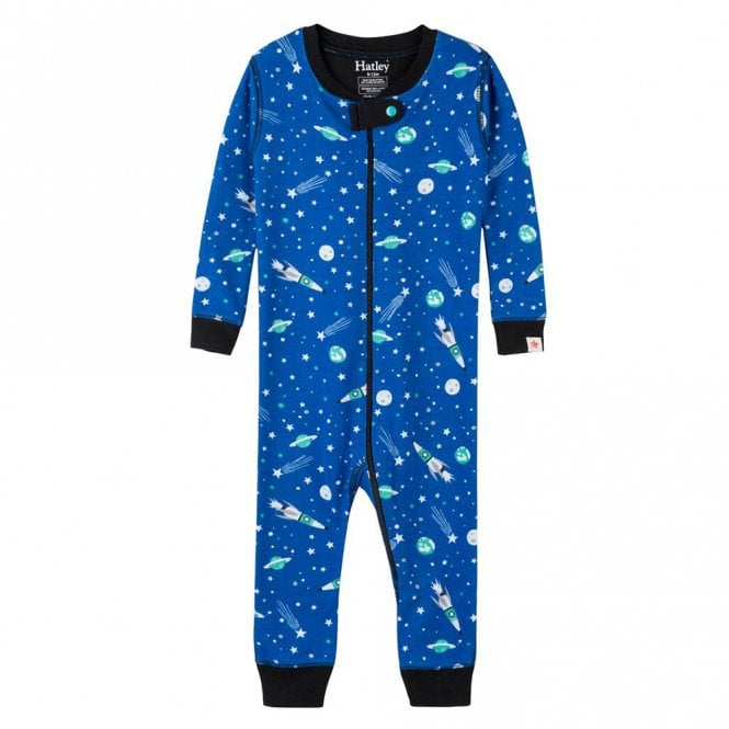 e3a99fae952c Hatley Baby Organic Cotton Romper Outer Space - Baby Clothes from ...