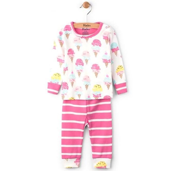 Hatley Baby Pyjamas Ice Cream Treats Organic Cotton Baby Clothes