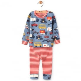 Hatley Baby Pyjamas Rush Hour Organic Cotton