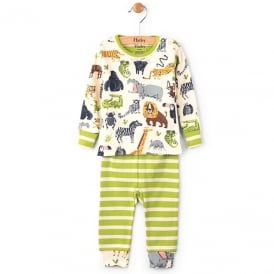 Hatley Baby Pyjamas Safari Adventure Organic Cotton
