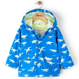 Hatley Baby Raincoat Colour Changing Dinosaur