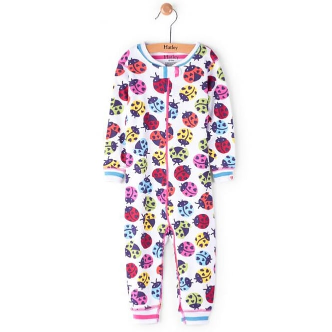 266f1970735f Hatley Baby Romper Rainbow Ladybirds Organic Cotton - Baby Clothes ...