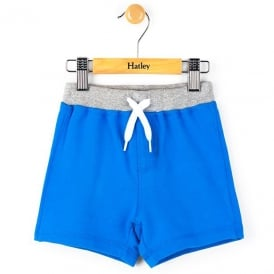 Hatley Baby Shorts Blue Lolite