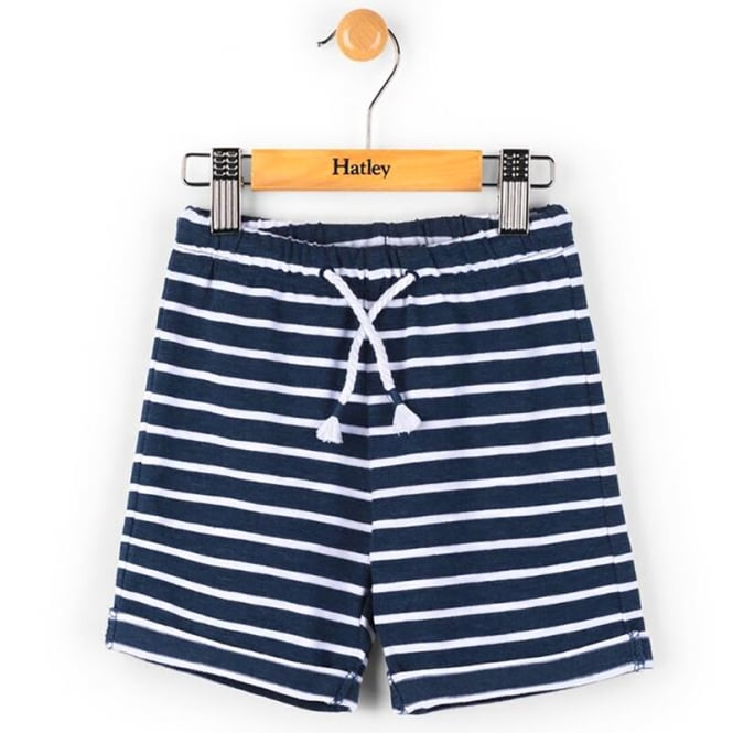 Hatley Baby Shorts Navy Striped