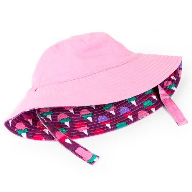 99b424c63b8 ... fashion styles 0f1b9 f0da7 Hatley Baby Sun Hat Reversible Ice Cream  Treats ...
