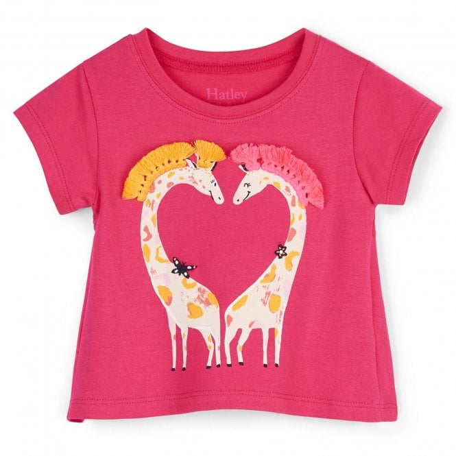 2020d089f Hatley Baby T-Shirt Sweet Giraffes - Baby Clothes from Soup Dragon UK