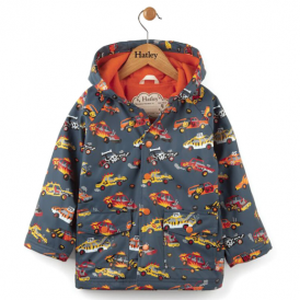 Hatley Boys Raincoat Demolition Derby