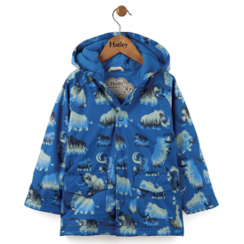 Hatley Boys Raincoat Woolly Mammoth