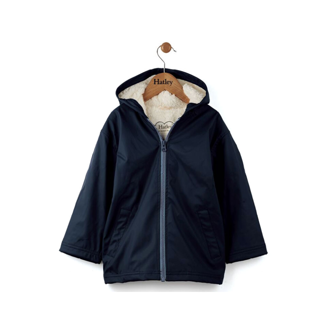 Hatley Boys Splash Coat Navy