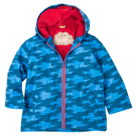 Hatley Boys Splash Jacket Rocket Ships