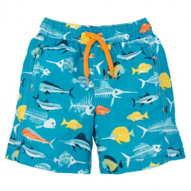 Hatley Boys Swim Shorts Fish Bones