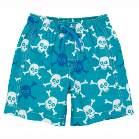 Hatley Boys Swim Shorts Skulls