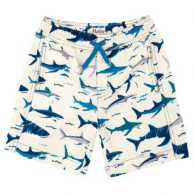 Hatley Boys Swim Shorts Toothy Sharks
