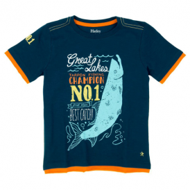 Hatley Boys T-Shirt Fishing Champion