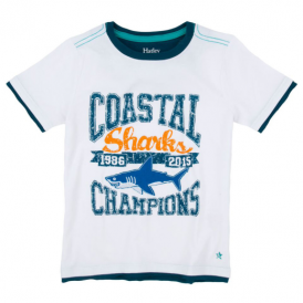 Hatley Boys T-Shirt Team Shark