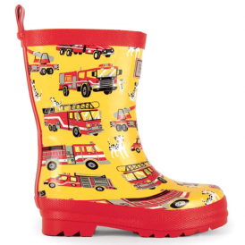 Hatley Boys Wellies Fire Trucks