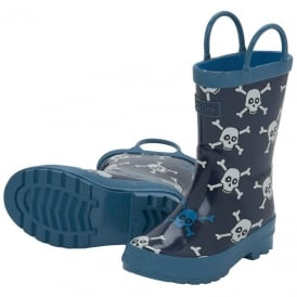 Hatley Boys Wellies Skulls