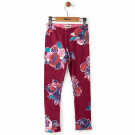 Hatley Girls Leggings Winter Floral