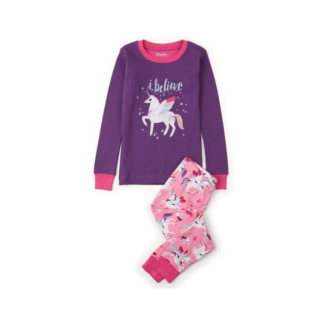9a58fdfb6 Hatley Girls Pyjamas Applique Unicorn - Pyjamas   Dressing Gowns ...