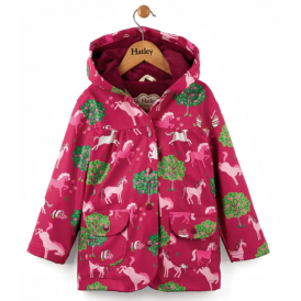 Hatley Girls Raincoat Apple Orchard