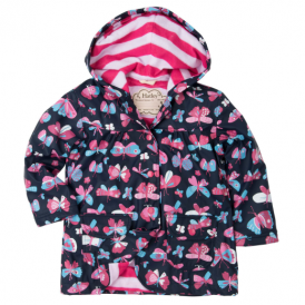 Hatley Girls Raincoat Pretty Butterflies