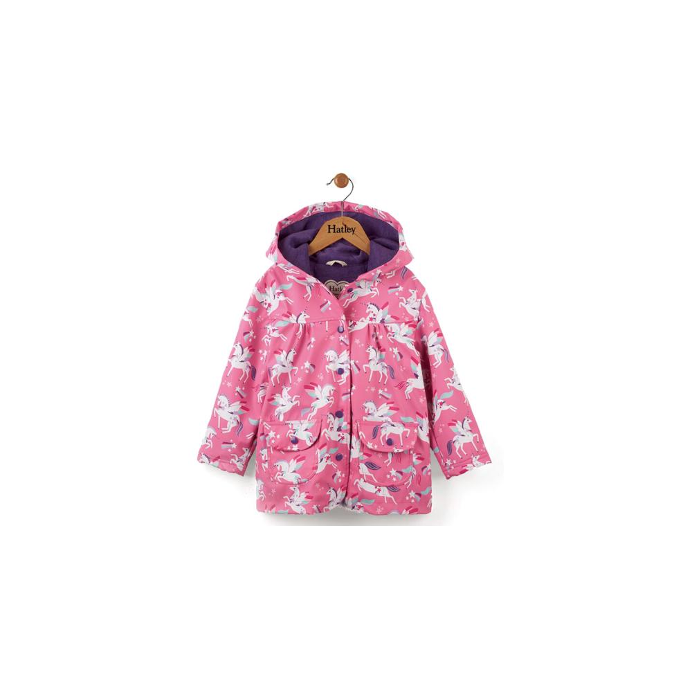 077652f74 Hatley Girls Raincoat Rainbow Unicorns - Raincoats from Soup Dragon UK