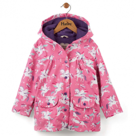 Hatley Girls Raincoat Rainbow Unicorns