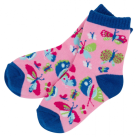Hatley Girls Socks Butterflies