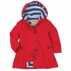 Hatley Girls Splash Jacket Red