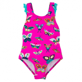Hatley Girls Swimsuit Butterflies